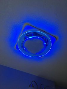 Nutone LunAura QTNLEDA Ventilation Fan/Light/LED Nightlight Review Nutone LunAura  sc 1 st  Bath Fan Review & NuTone QTNLEDA LunAura Round Decorative Bathroom Fan Light Night ...