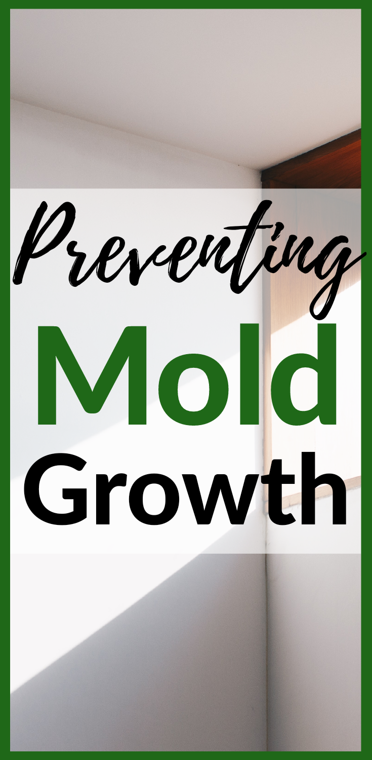 Preventing mold growth
