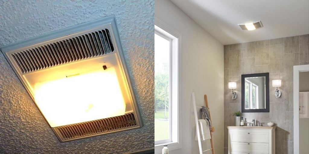 Best Bathroom Fan With Light 2020, Best Bathroom Vent Light Combo