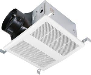 KAZE APPLIANCE SEP120H Ultra Quiet Bathroom Exhaust Fan with Humidity Sensor