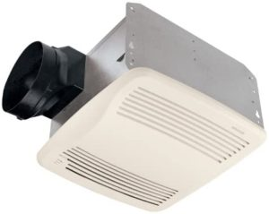 Broan-Nutone QTXE110S Ultra-Silent Humidity-Sensing Ventilation Fan
